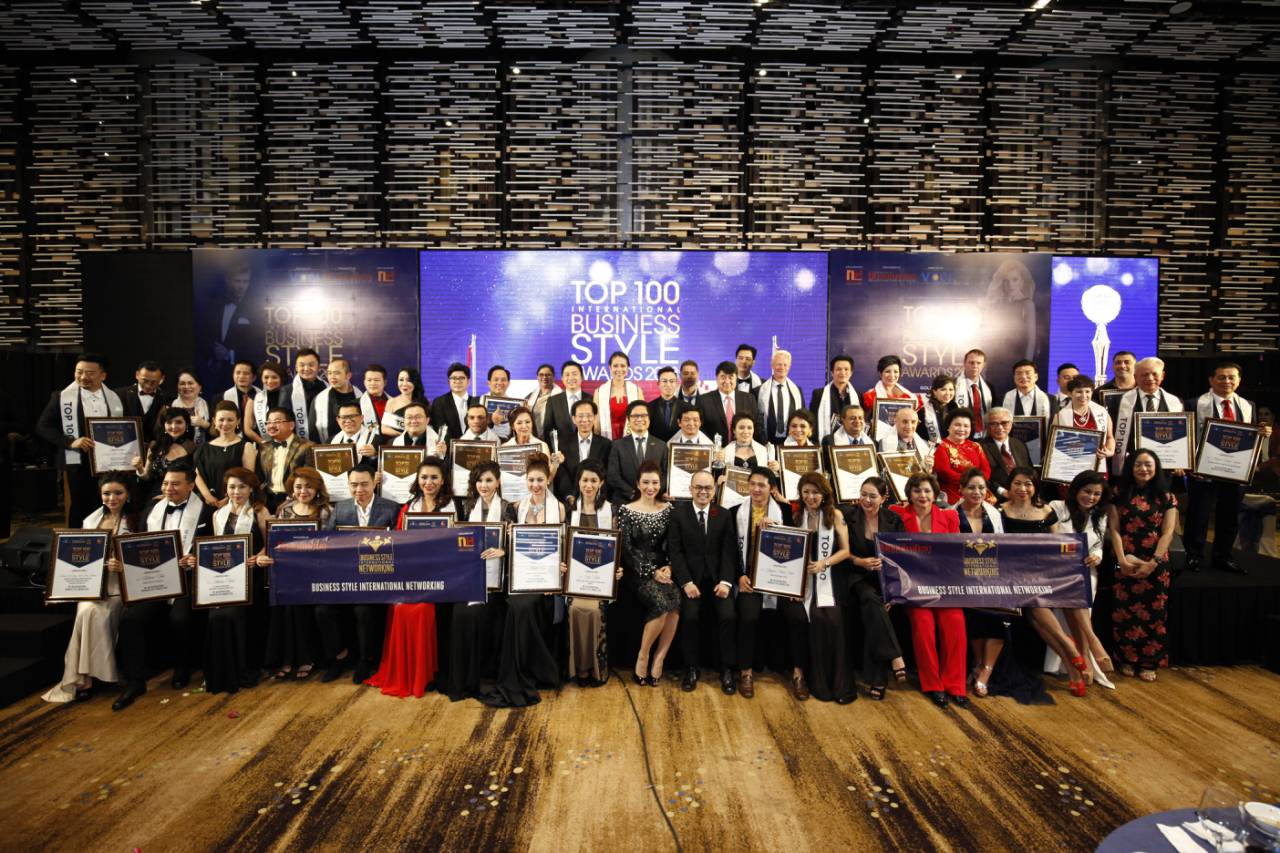 A Great Gala Night of Top 100 International Business Style Awards 2018 – A strong impression on international entrepreneurs