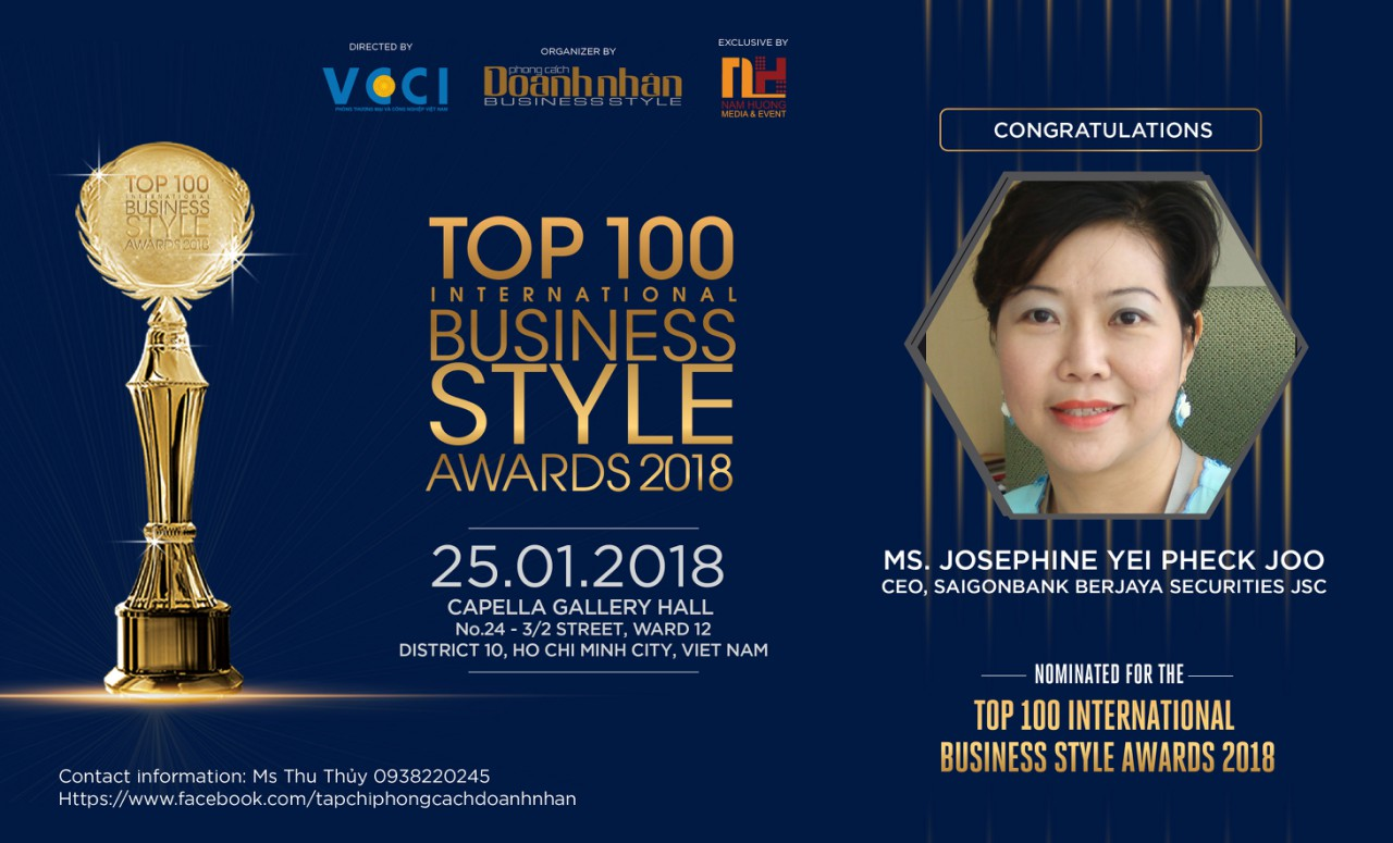 Ms. Josephine Yei Pheck Joo – CEO of SaigonBank Berjaya Securities JSC