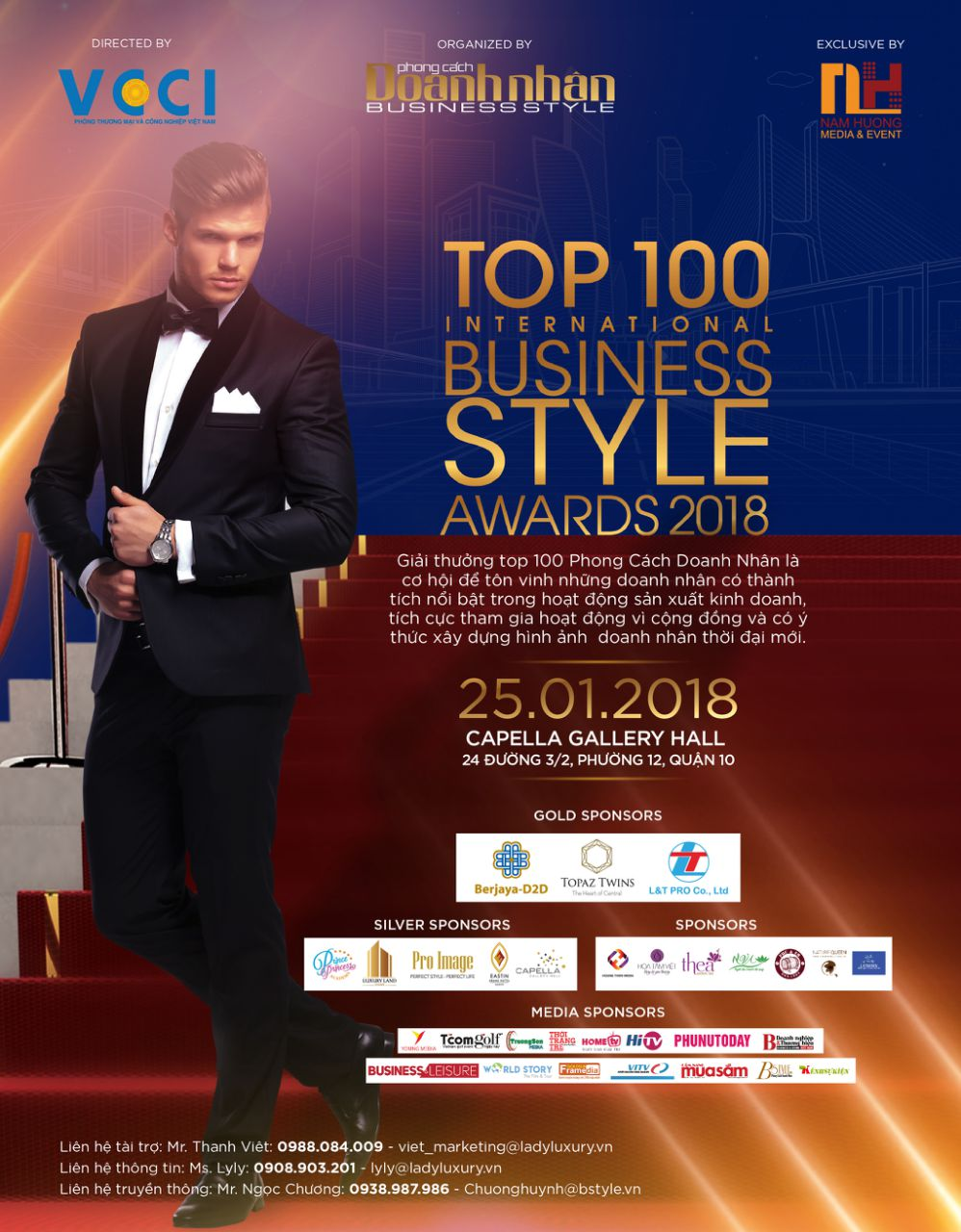 Revealing nominees of Top 100 Business Style Awards 2018