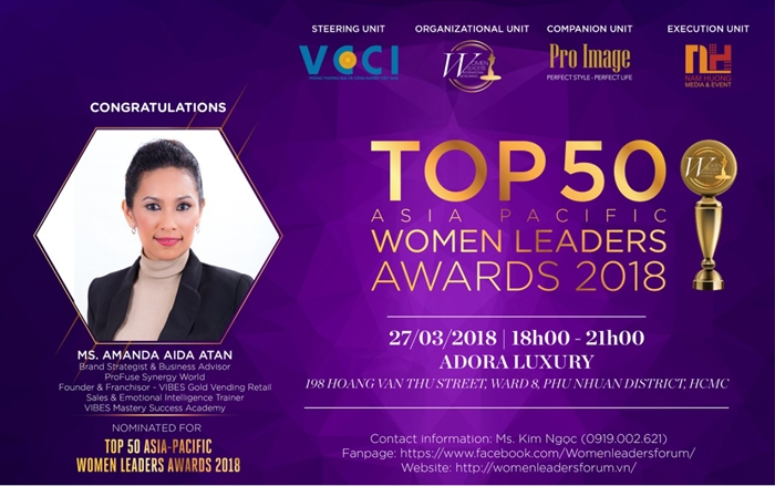 Entrepreneur Amanda Aida Atan – Founder of VIBES Mastery – Businesswoman who stands behind the success of many women