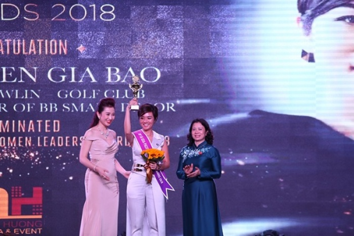 """Ms Nguyễn Gia Bảo – The owner of BB Smart Decor – """"Producing a 3D design within only half of the day by utilizing her artificial intelligence"""""""