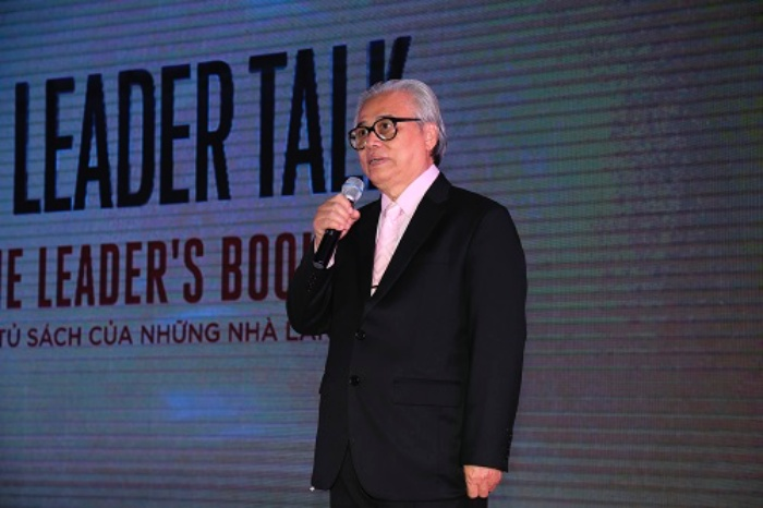 Nguyen Khac Thuan Revealed That The Leader Talk Leaders Bookshelf Was A Precious Event