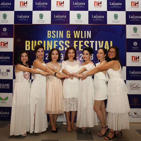 "Nam Huong Media & Event successfully organized the event ""BSIN & WLIN Business Festival"""