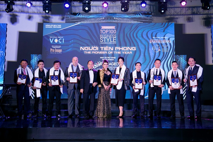 "Top 100 International Business Style Awards – Caliber program ""The pioneer class"""