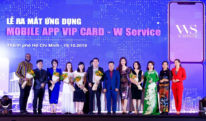 Sự kiện Ra mắt Ứng dụng Mobile App VIP Card WService - Active
